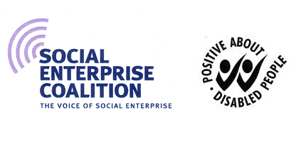 a-2-e are members of the Social Enterprise Coalition and Positive about Disabled People